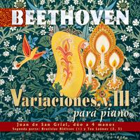 Beethoven: Variaciones para Piano, V. III