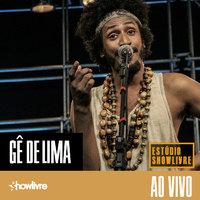 Gê de Lima no Estúdio Showlivre
