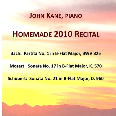 ONErpm: Homemade 2010 Recital by John Kane | Music Distribution to